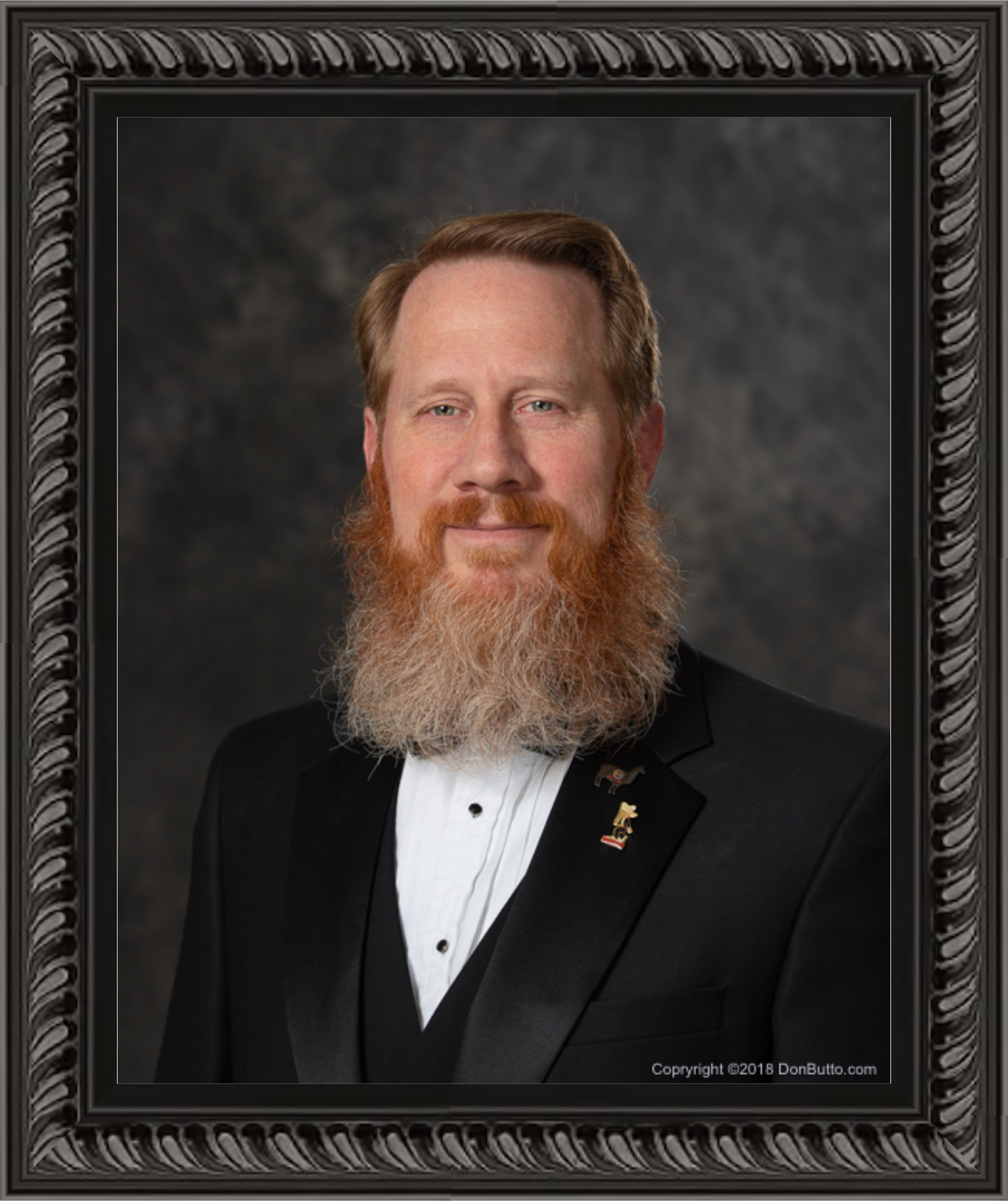 Past Master Portrait