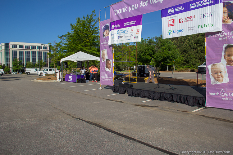 March of Dimes: March for Babes - Morning Setup