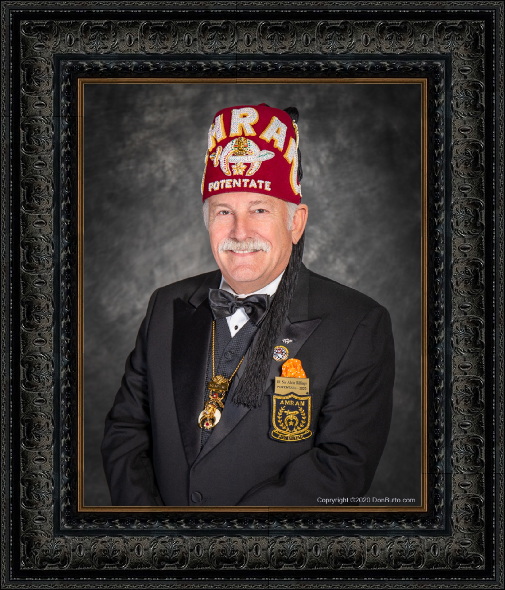 2020 Potentate - Amran Shriners